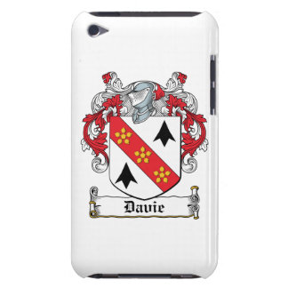 Davie Family Crest Barely There iPod Covers