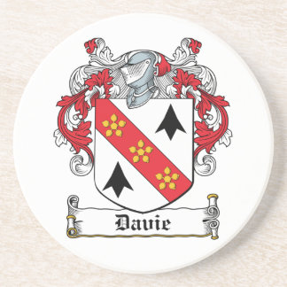 Davie Family Crest Coasters