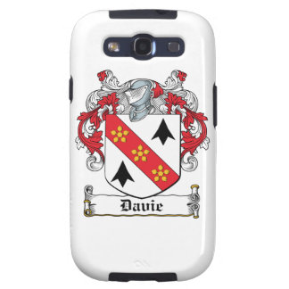 Davie Family Crest Galaxy SIII Covers