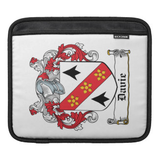 Davie Family Crest iPad Sleeve