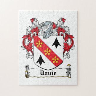 Davie Family Crest Jigsaw Puzzle