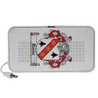 Davie Family Crest Portable Speakers