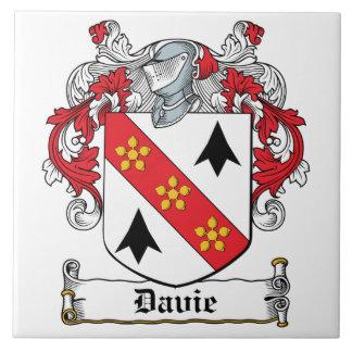 Davie Family Crest Tiles