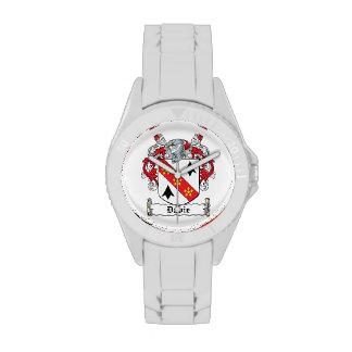 Davie Family Crest Wrist Watch