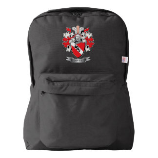 Davies Family Crest Coat of Arms American Apparel™ Backpack
