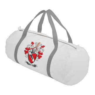 Davies Family Crest Coat of Arms Duffle Bag