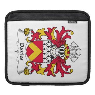 Davies Family Crest Sleeve For iPads