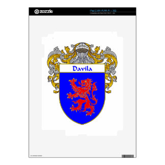 Davila Coat of Arms/Family Crest Skins For iPad 2