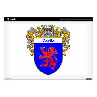 Davila Coat of Arms/Family Crest Skins For Laptops