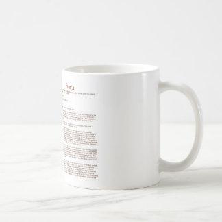 Davila (meaning) coffee mug