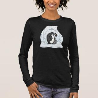 Davin and Annie the Penguins Women's Dark Shirt