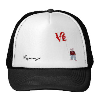 Davin Patel designs - love, Esperanza Trucker Hat