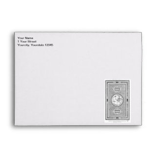 DaVinci and Sanzio Ceiling Classic Illustration Envelope