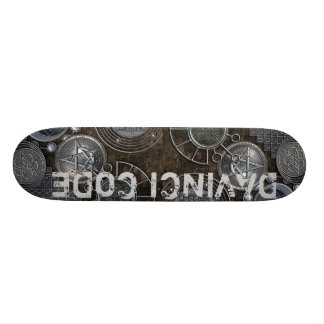DAVINCI CODE Skateboard