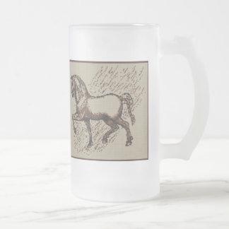 DAVINCI HORSE MUGS