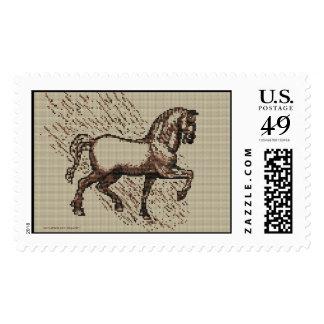 DAVINCI HORSE POSTAGE