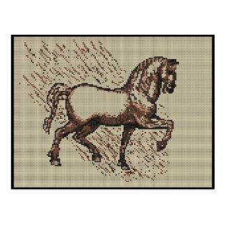 DAVINCI HORSE POSTCARDS