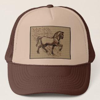 DAVINCI HORSE TRUCKER HAT