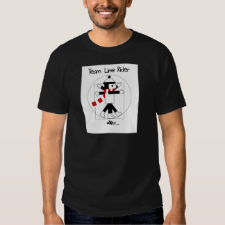 DaVinci LineRider T-shirts