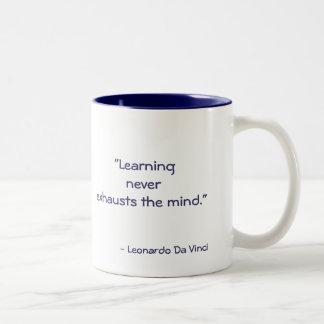 DaVinci Quote Coffe Mug