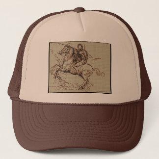 DAVINCI RIDER TRUCKER HAT