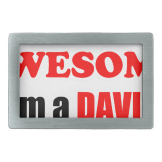 Davis Awesome Family Belt Buckle