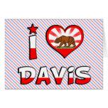Davis, CA Felicitación