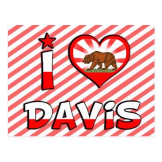 Davis, CA Postcard