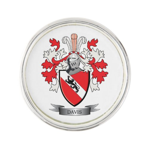 Davis Coat of Arms Pin