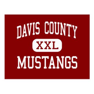 Davis County - Mustangs - Community - Bloomfield Postcard