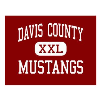 Davis County - Mustangs - Middle - Bloomfield Iowa Postcard