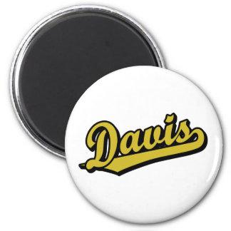 Davis en oro iman