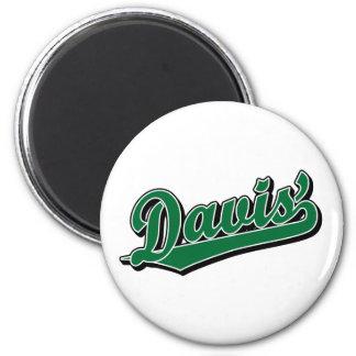 Davis en verde iman