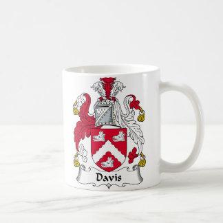Davis Family Crest Coffee Mug