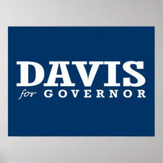 DAVIS FOR GOVERNOR 2014 PRINT