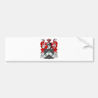 Davis (Ireland) Coat of Arms Bumper Sticker