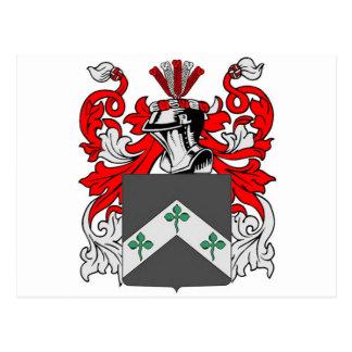 Davis (Ireland) Coat of Arms Postcard