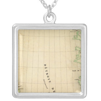 Davis Straight Region Square Pendant Necklace
