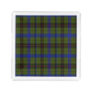 Davison Scottish Tartan Acrylic Tray