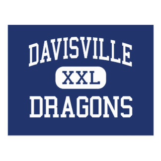 Davisville Dragons Middle North Kingstown Postcard