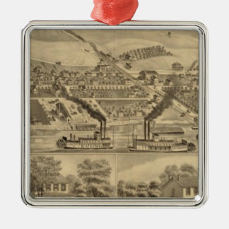 Davosburgh coal works christmas tree ornament