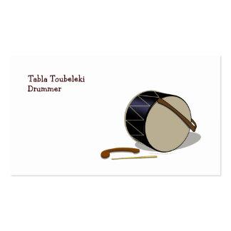Davul Tupan Drum Drummer Business Card Template