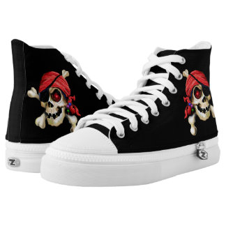 Davy Bones' Shoelocker Printed Shoes
