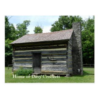 Davy Crockett Birthplace Postcard