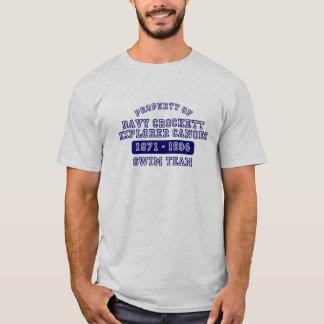 Davy Crockett Explorer Canoes T T-Shirt