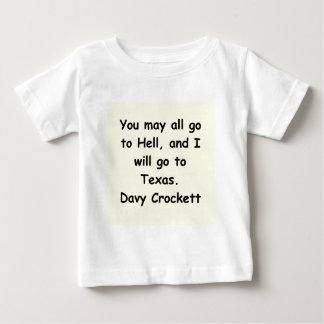 davy crockett quote baby T-Shirt