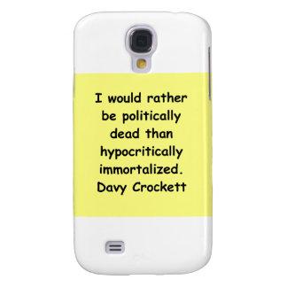 davy crockett quote samsung s4 case