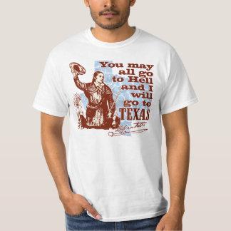 Davy Crockett Texas Shirts