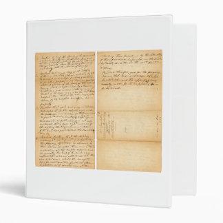 Davy Crockett's West Point Resolution 1830 Binder