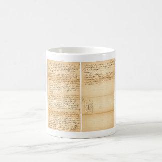 Davy Crockett's West Point Resolution 1830 Coffee Mug